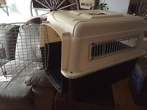 Vari-kennel Ultra. carrier cage used only once.Asking 65$obo.