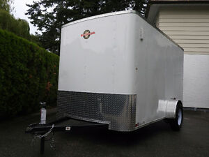 Like New 6X12 Enclosed Cargo Trailer!
