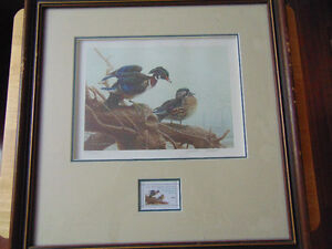 Wildlife Habitat Canada / Prints with Stamps / s-n London Ontario image 5