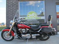 KAWASAKI VULCAN 900 2006 ACCIDENTÉ LÉGER VGA 1995.99$