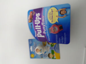 BRAND NEW HUGGIES POTTY TRAINER AND MUSICAL HABD WASH TIMER KIDS