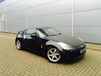 2004 04 reg Nissan 350Z 3.5 V6 GT Pack Coupe + Black
