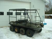 Argo 8 x 8 ROPS  / Boat Rack/ Mobile Moose Hunting Platform