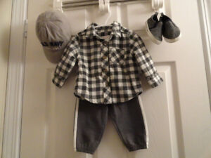 Baby Boys Outfits - Size 3-6 months