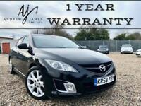 2008 58 MAZDA 6 SPORT 2.5 PETROL 170BHP MODEL TOP SPECIFICATION ☆ FSH ☆ NEW MOT!
