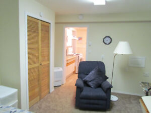 STUDIO / BACHELOR SUITE---FURNISHED---UTILITIES INCLUDED
