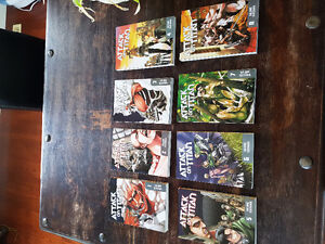 Attack on Titan volumes 1-15 (Great condition)