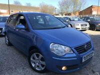 ✿09-Reg Volkswagen Polo 1.4 TDI Match, Diesel, Blue ✿NICE EXAMPLE✿