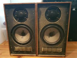 Classical Dynaco A10 Bookshelf stereo Speakers Hi-fi vintage