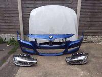Genuine BMW 3 Series F30-F31 M Sport Bonnet & Front Bumper & Xenon Headlights 2012-2013-2014-2015