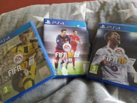 PS 4football games