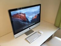 "iMac 27"" 2.7Ghz i5 - 14GB RAM - 1TB HDD - Great condition - Wireless mouse and Keyboard - Free Apps"