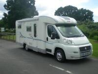 ADRIA CORAL S 660 SL, 3 Berth motorhome with rear twin singles