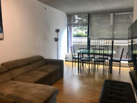 Furnished 1 bed in Gastown Woodwards