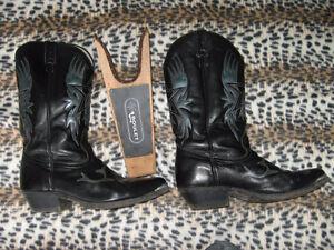 Bottes Boulet cowboy ou moto, pointure 9 1/2