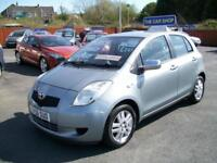 2006 TOYOTA YARIS 1.3 VVT i T3 JUST SERVICE M.O.T MARCH 2019