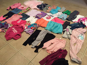50 pieces of size 5T clothing