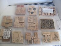 STAMPIN UP WOODEN STAMP SETS $10.00 EACH