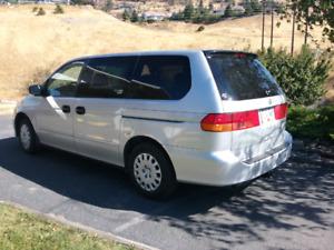 2002 Honda Odyssey It's SOLD