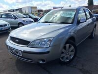FORD MONDEO 1.8i 2003 + FULL SERVICE HISTORY + 12 MONTHS MOT + LOW MILES!!