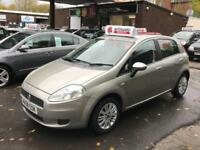 Fiat Punto Dynamic 8v 2008 1.2cc 5dr Petrol Manual Great Spec Very Economical