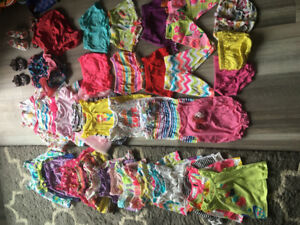 3-6 month girls summer lot