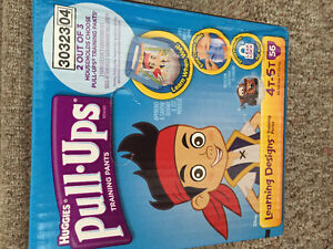 New! Box of  Huggies pull ups size 4-5 just reduced