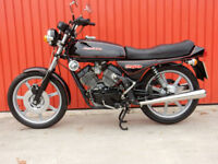 MOTO MORINI 2C 250cc V TWIN 1981 MATCHING FRAME AND ENGINE NUMBERS
