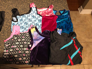 Gymnastics Suits Youth 12-14