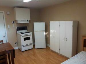 Chambre-studio 310$/mois tout meublé,près mer à 10 min de Matane