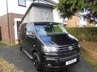2013 VOLKSWAGEN T5 CAMPER, 4 BERTH, POP TOP, PROFESSIONAL CONVERSION 2017