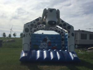 three (3) commercial grade 13 x13 bouncy castles