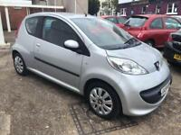 Peugeot 107 Urban 64K brand new MOT when sold and service Bluetooth radio