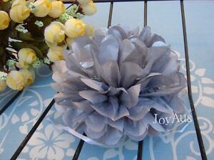 ... tissue paper pompom flower garland wedding party table decoration