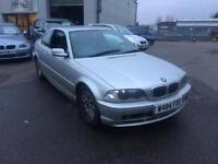 BMW 323 2.5i Ci coupe 2000 W Reg 2 door