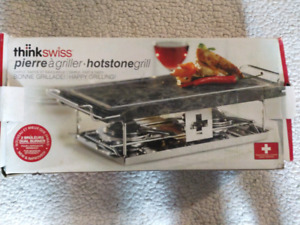 Hot stone think swiss cooking