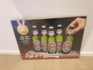 STEINLAGER LAGER BEER - Pick up a Winner! Poster