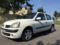 2004 RENAULT CLIO 2 LADY OWNERS MAY 2017 MOT