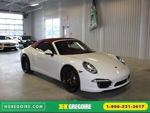 2012 Porsche 911 S CARRERA PDK Convertible (Cuir-Nav-Sport Chron