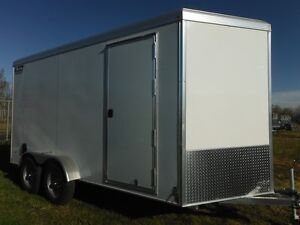 2016 Triton Vault  VC-714 R - Aluminum Enclosed Cargo Trailer