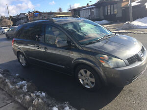 2005 Nissan Quest Full equipe Familiale DVD