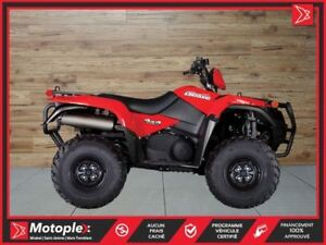 2018 Suzuki KingQuad 750AXi Power Steering SE 42$/SEMAINE