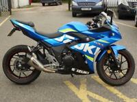 SUZUKI GSX250R ABS MOTO GP COLOURS JUST 513 MILES