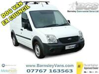 2010 10 FORD TRANSIT CONNECT T230 LWB HIGH ROOF 1 CAGE DOG VAN