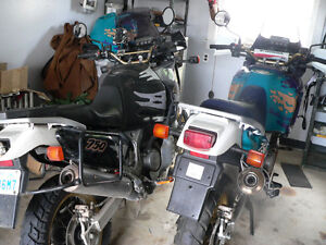 2 X HONDA AFRICA TWINS XRV750 ( THE REAL AFRICA TWIN )