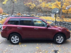 2009 Subaru Forester 2.5x w/ premium package