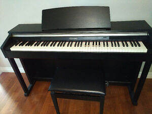 Casio Celviano AP-420 Digital Piano with Bench in Excellent Cond