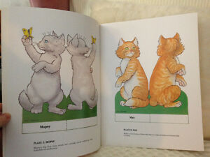 3 Little Kittens Paper Dolls/CutOuts London Ontario image 2