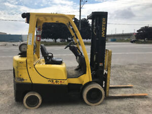 Hyster S 60 FT- 6000 lb Excellent condition propane forklift!