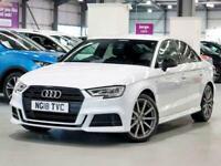 2018 Audi A3 1.5 TFSI Black Edition 4dr S Tronic Auto Saloon Petrol Automatic